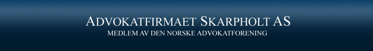 Logo, Advokatfirmaet Skarpholt AS